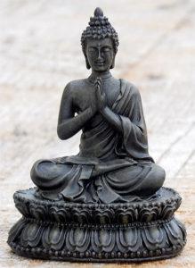 Find a buddha meditation statue for your altar awake mindful buddha namaste statue m4hsunfo