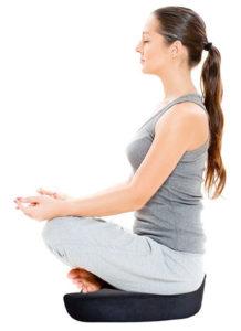 Zen Comfort Memory Foam Meditation Cushion