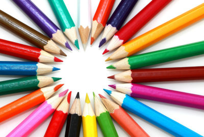 Colored Pencils, Pens, & Markers for Adult Coloring Books