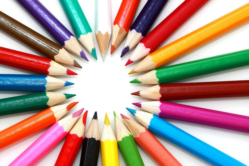 Colored Pencils, Pens, & Markers for Adult Coloring Books - Awake ...