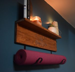 Personalized Yoga Mat Holder
