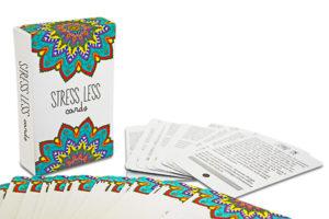 Stress Less Cards Meditation Gift Ideas