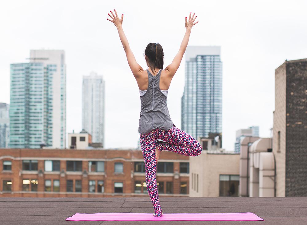 Tree Pose Yoga for Posture