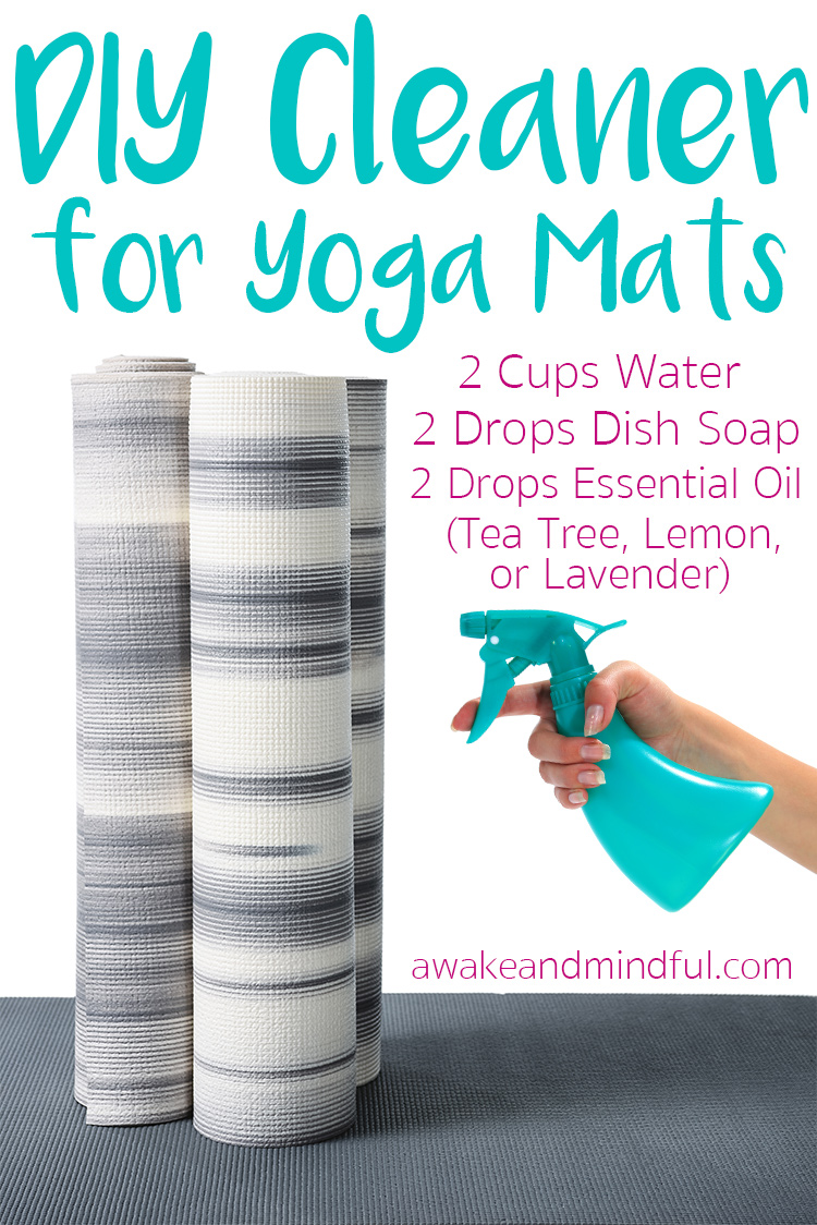 Easy DIY Yoga Mat Cleaner