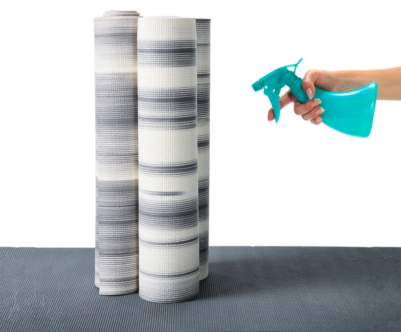 How to Clean a Yoga Mat - Easy DIY