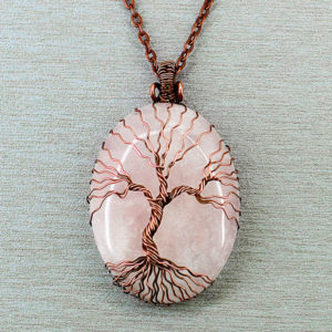 Handmade Tree of Life Necklace - Mindful Mother's Day Gift