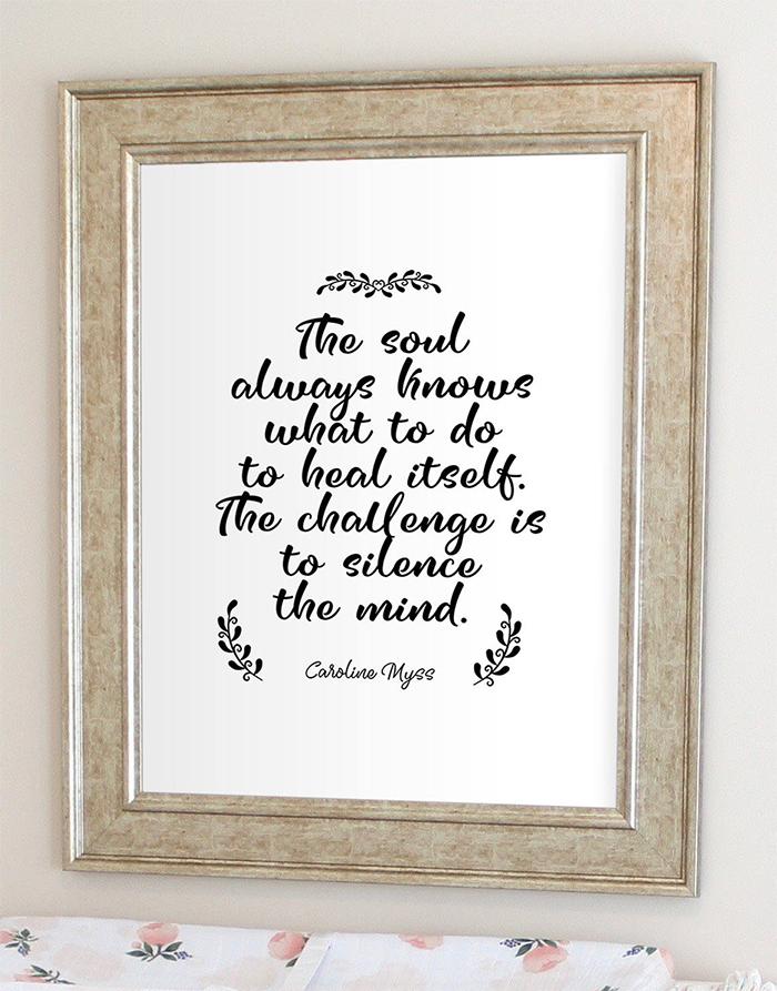 Caroline Myss Mindfulness Quote