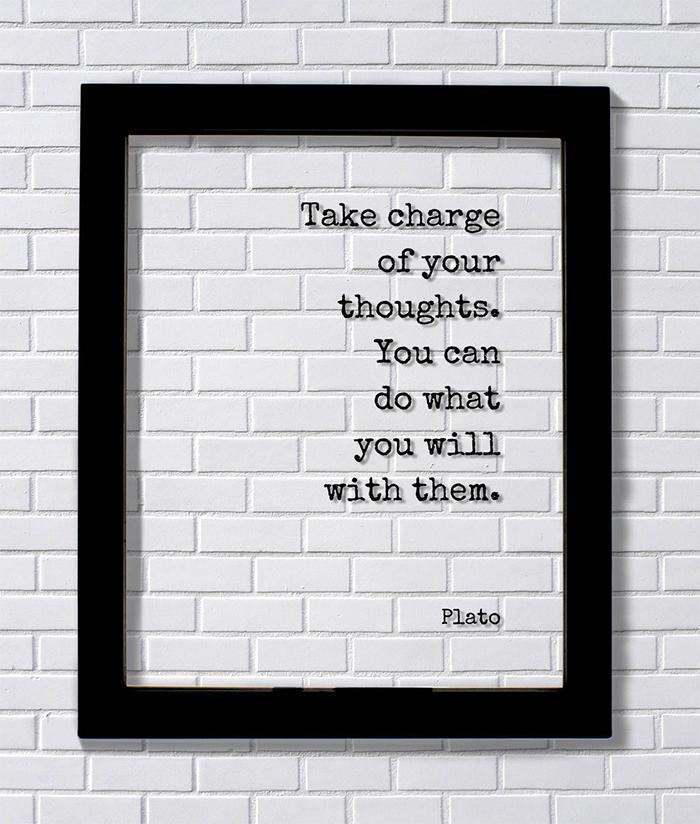 Plato Meditation Quote