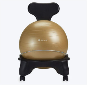 GAIAM Balance Ball Chair Gift for Dad