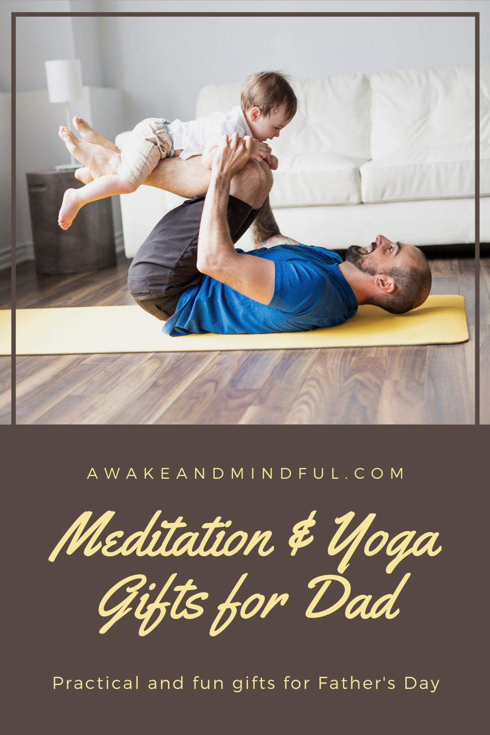 15 Father's Day Meditation & Yoga Gifts for Dad