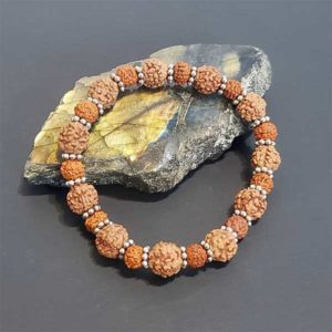 Rudraksha Mala Bracelet Meditation Father's Day Gift
