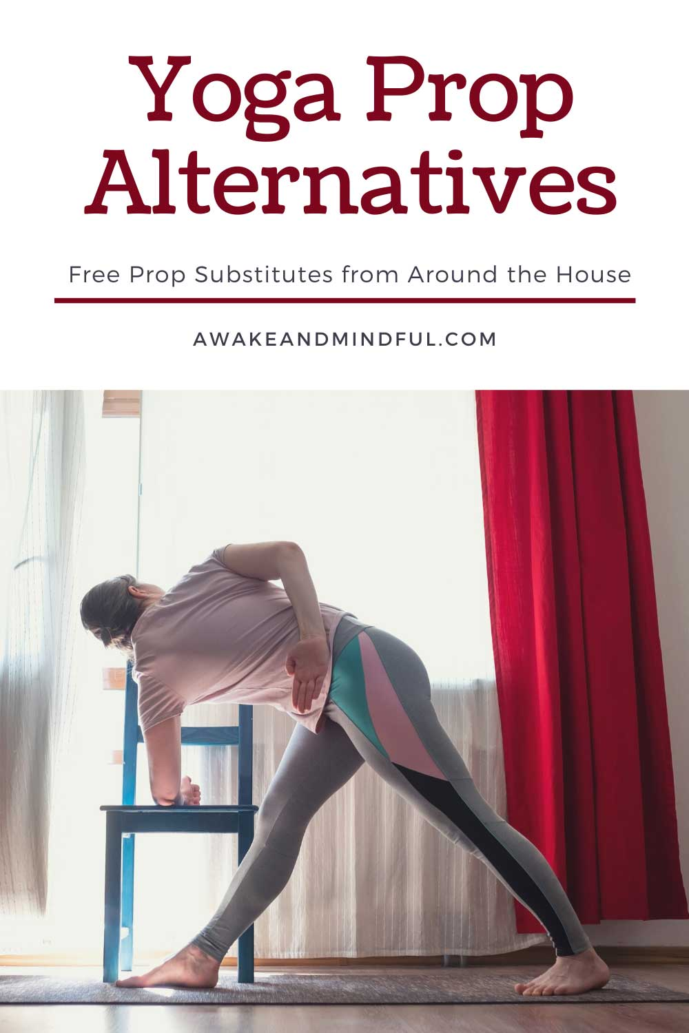 Yoga Prop Alternatives for Home Practice